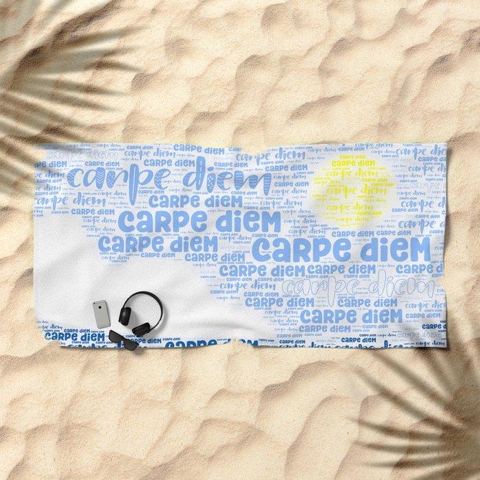 Carpe Diem (Sun) Beach Towel