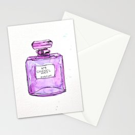 perfume purple Stationery Cards