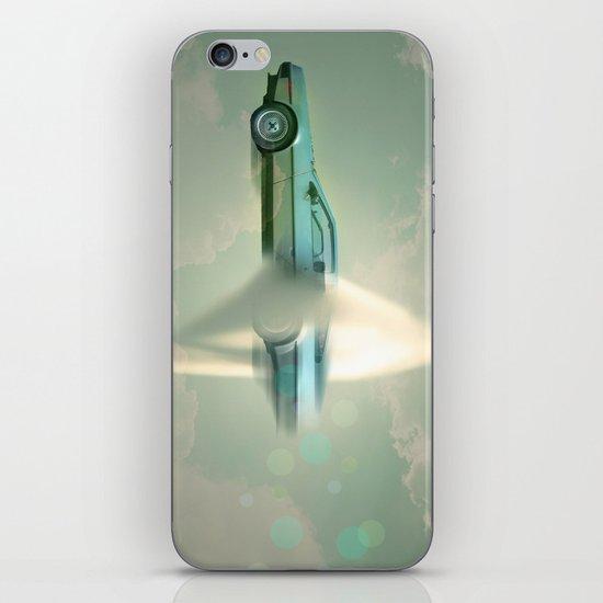 Supersonic Delorean iPhone & iPod Skin