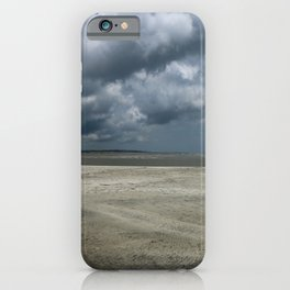 Dramatic Sky Over Golden Isles Beach iPhone Case