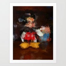 Welcome to the Majick Kingdom of Purloined Childhood Art Print