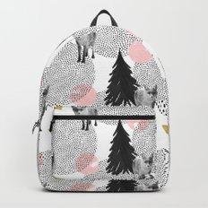 Foxy Pattern Backpack