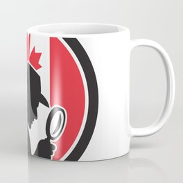 Canadian Private Investigator Canada Flag Icon Coffee Mug
