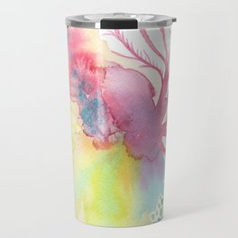 Lace corals Travel Mug