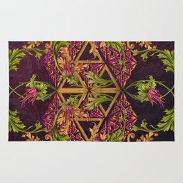 Celtic Triskels and Baroque Ornamentals Rug
