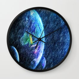 Far out there Wall Clock