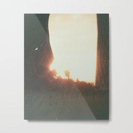Day 0547 /// Nevn vårt navn i dine bønner Metal Print