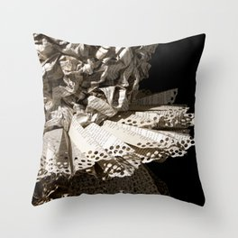 Harlequin III Throw Pillow