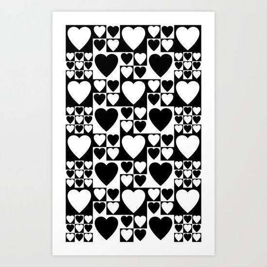 SIXTIES LOVE Art Print