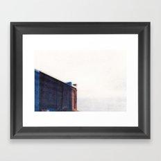 Double Building  Framed Art Print