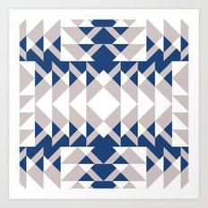 Pattern Print Edition 1 No. 6 Art Print