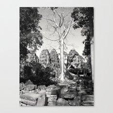 Bayon Temple - Cambodia Canvas Print