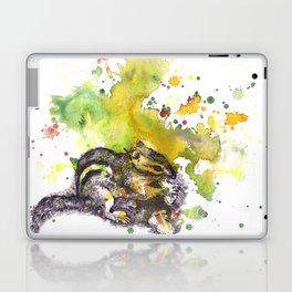 Chipmunk Color Splash Painting Laptop & iPad Skin