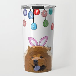 Happy Easter - Chow Chow Travel Mug