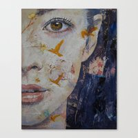 geisha Canvas Prints featuring Geisha by Michael Creese