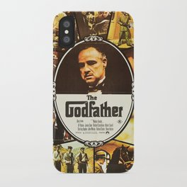 The Godfather, vintage movie poster iPhone Case