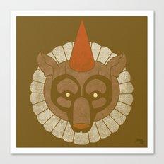 Circusbear Canvas Print
