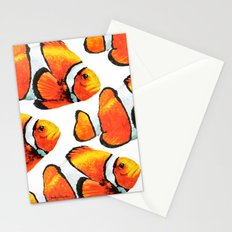 Yupo Clown Fish Stationery Cards