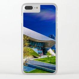 bavarian car manufacture museum Munich Clear iPhone Case
