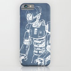 Pensive Robot (Light) iPhone 6s Slim Case
