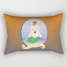 Children Zodiac Sign: Capricorn Rectangular Pillow