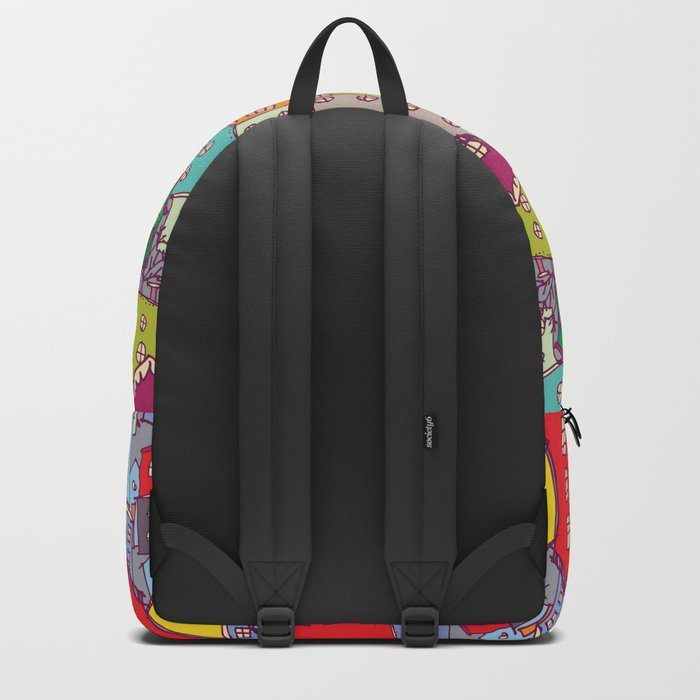 Cityscape Sketch Backpack