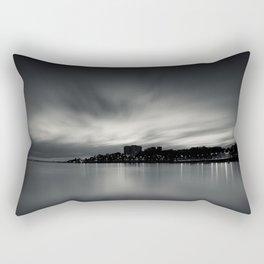Sunset over Porto. Foz do Douro, Porto, Portugal. Rectangular Pillow