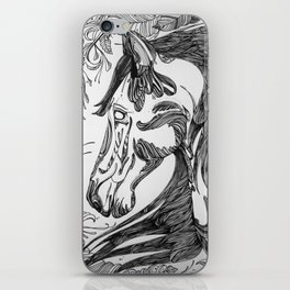 horseseven iPhone Skin