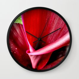 Organic Folds - The Garden Series Wall Clock