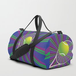 Tennis Ball and Racket Duffle Bag