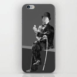 Charlie Chapline iPhone Skin