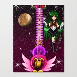 Sailor Moon Guitar #9 - Sailor Pluto (Setsuna Meioh) Canvas Print