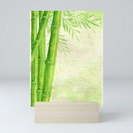 Bamboo Shoots Mini Art Print