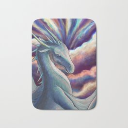 Cloud Dragon Bath Mat
