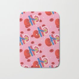 Kidney Bath Mat