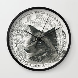 flora&fauna Wall Clock
