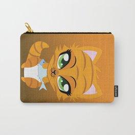 Cute little red kitten Carry-All Pouch