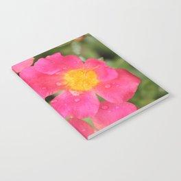 Neon Flowers Notebook