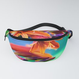 Blooming Crocosmia Fanny Pack