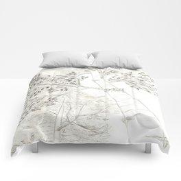 Aspen Trees Sketch Comforters