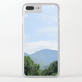 Tennessee Smokies Clear iPhone Case