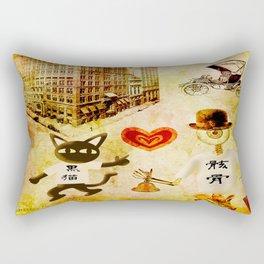 Monsieur Bone,Whim et la cloche Rectangular Pillow
