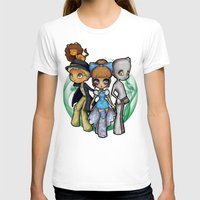 oz T-shirts featuring Oz  by Mickey Spectrum