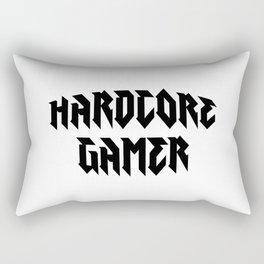 Hardcore gamer Rectangular Pillow