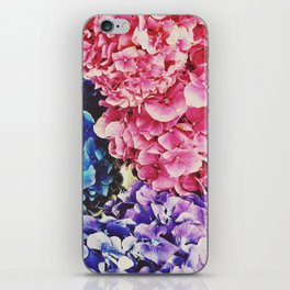 The Colored Petals  iPhone Skin