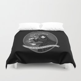 Aquarius Witchy Zodiac Duvet Cover