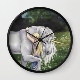 Finding Innocence Wall Clock