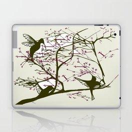 Hummingbirgds, before anything had a soul Laptop & iPad Skin