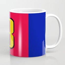 soccer team jersey number eight Coffee Mug
