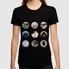 PHILKAS: A MINIMALIST LOVE STORY T-shirt